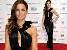 Kate Beckinsale turns heads in slinky black dress at Gotham Awards in New York