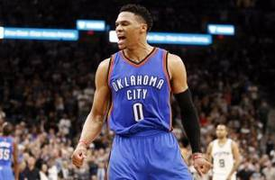 Russell Westbrook is now averaging a triple-double