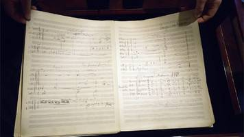 gustav mahler manuscript breaks record at sotheby's selling for £4.5m