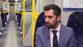 humza yousaf: 'commuters will benefit from rail improvement plan'