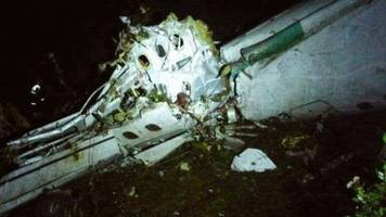 brazilian plane carrying top football team crashes in colombia, 76 dead