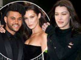 Bella Hadid and The Weeknd 'catch up in Paris' weeks after confirming end of their romance