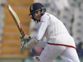 england 'in awe' of haseeb hameed as teenage star has to be told to go home for surgery