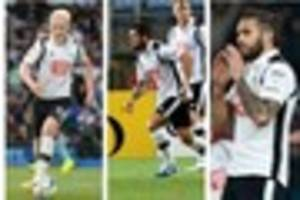 what pleased steve mcclaren  most about derby county's midfield...