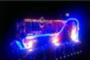 santa's christmas sleigh route with sutton coldfield and...
