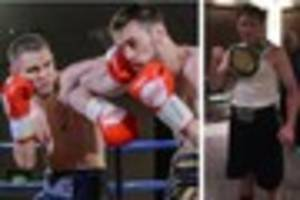 Boxing: Remarkable fighter Joe Hughes out to regain English title...