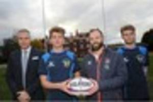 Competitive teams try out  new rugby posts