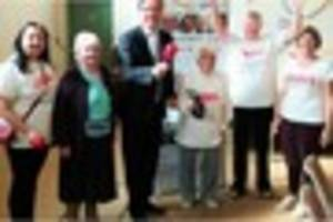 watch: golden oldies group are off to westminster for jubilee...