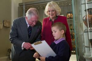 by royal appointment: charles and camilla mark double cambridge birthday
