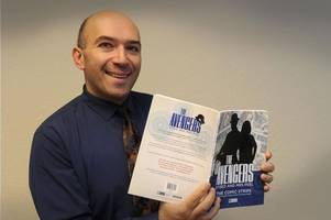 cambuslang man contributes to new avengers book