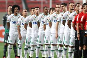 Chapecoense set to be awarded Copa Sudamerica title after opponents Atletico Nacional ask for poignant tribute