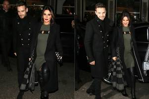 Cheryl shows off her bump as she heads to charity bash with Liam Payne amid pregnancy rumours