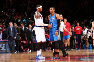 NBA Rumors: Oklahoma City Thunder Russell Westbrook could've joined Carmelo Anthony in New York Knicks
