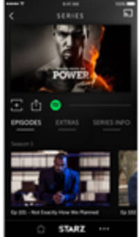 Starz Integrates Spotify into Its App Platform Merging the Music and Video Entertainment Experience