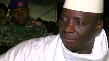 Gambia election: President Yahya Jammeh 'will never pardon' opposition