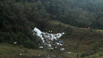 Colombia air crash