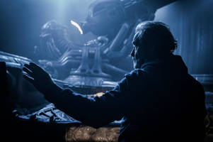New 'Alien: Covenant' behind-the-scenes photo released for Ridley Scott's birthday