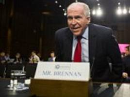 CIA boss John Brennan warns Trump it would be 'disastrous' to abandon the Iran deal and calls for him to stand up to Putin and Assad