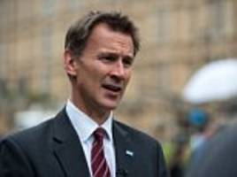 jeremy hunt calls for companies to block explicit messages being sent by under-18s