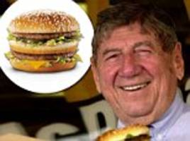 pennsylvania mcdonald's franchisee who created big mac dies