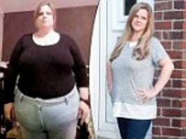 woman drops five dress sizes to get rid of her 'santa belly' in time for christmas