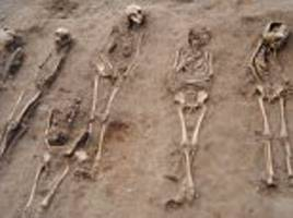 children of the black death are unearthed in a lincolnshire burial pit