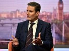 Labour could try to block Brexit but Sir Keir Starmer wants to 'keep options open'