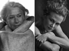 the new pirelli calendar claims to show older beauties as they really are