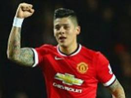 bayer leverkusen hoping to repeat javier hernandez trick by making move for manchester united defender marcos rojo