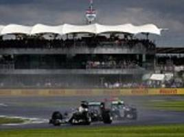 British Grand Prix to clash with men's Wimbledon final next year as F1's 2017 20-race calendar is confirmed