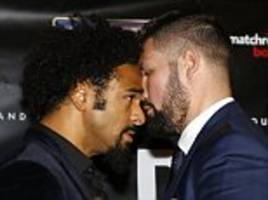 david haye makes ridiculous claim ahead of title fight with tony bellew: 'i could go clubbing every single night from now to the fight and still knock you out'