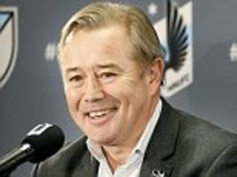 Former Everton, Stoke and Manchester City player Adrian Heath named coach of Minnesota United