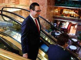 TRUMP TREASURY SECRETARY: 'Our first priority is tax cuts'