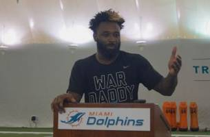 Miami Dolphins Jarvis Landry tells the real story of his Rams touchdown