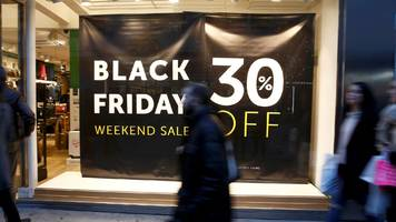 Black Friday 'online sales rise by 12% from last year'