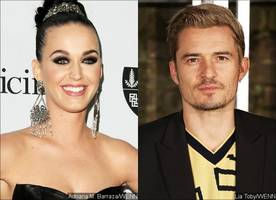 Katy Perry Sparks Orlando Bloom Engagement Rumor After Spotted With Huge Ring on That Finger