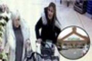 Women wanted by police after £300 of alcohol stolen from...