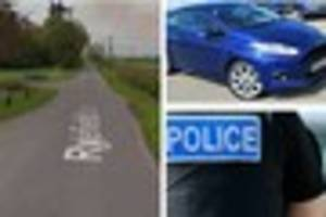 police hunt man who 'deliberately drove' at police near the...