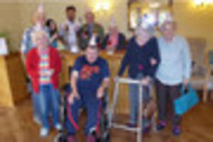 cheers to a happy retirement! bar opens in grantham care home