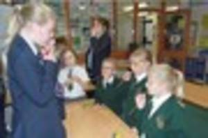 Gillingham School Science Ambassadors run after-school clubs for...