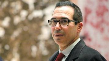 mnuchin promises to boost us growth as treasury boss