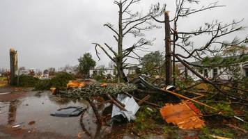tornadoes and storms kill five in us south