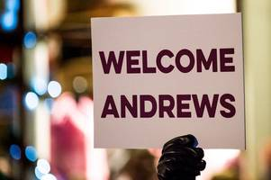 Welcome to St Andrew's Day, Andrew, Andy, Andre and Andrea