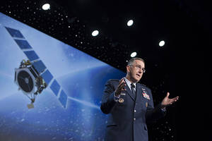 US military gears up for space war