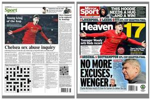 Liverpool FC teen Ben Woodburn just hit the big time as national media go bonkers for Welsh wonderkid