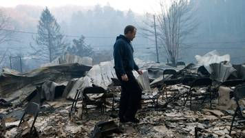 seven people dead in tennessee wildfire