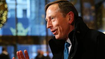 what would david petraeus bring as secretary?