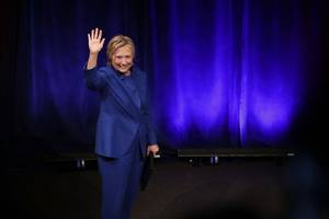 Hillary Clinton Makes Surprise Appearance at UNICEF Gala