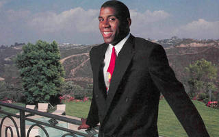 magic johnson was a janitor in junior high