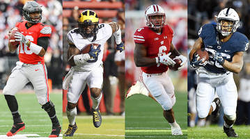 Ranking the Big Ten's College Football Playoff contenders